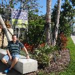 Entrada al Jardín Botánico de Miami Beach