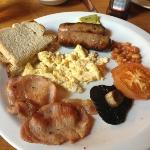 breakfast wasn't worth the wait at all! was vile!