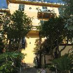 Back Side of Villa Anita