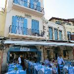 hôtel et restaurant sur port