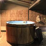 Room 1 hot tub