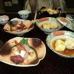 Kaiseki dinner set
