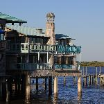 View of the Harbour Master Suites from the fishing pier