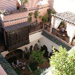 vue de la terrasse supérieure