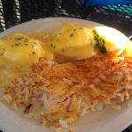 Eggs Benedict.  Who could say no to this.  NO ONE  !!!