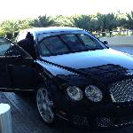Bentley do St Regis a disposicao da suite