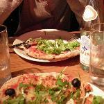 pizze parmigiano e rucola!