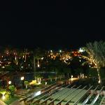 View from entertainmen centre, looking down to beach