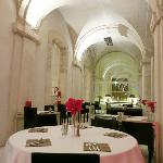 Beautiful hotel's restaurant