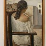 Salvador Dali - Girl from the back - 1925