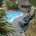 Pool area with Lapa new and upgraded.