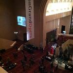 Another lobby shot of the Wortham Center