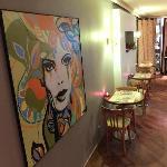 Pop paintings at 1st floor