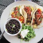 Brunch chicken tacos - GREAT!!
