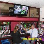 Rockdene's well stocked bar