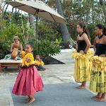 Free weekly hula demonstration