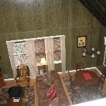 View from Loft area