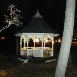 Gazebo at night...