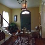 BEAUTIFUL Foyer. The front door is amazing! (and big!)