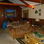 Blue Spruce family room with eating area