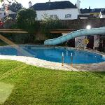 Lovely outside pool