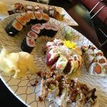 Delicious sushi in Avon