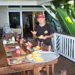 Shai Serves Breakfast