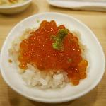 Salmon Roe with rice