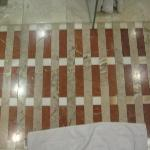 Elaborate marble floors and fittings