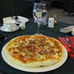 Big Bacon Pizza