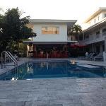 Royal Palms pool/bar area