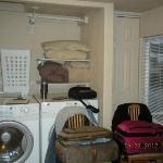 laundry area/closet
