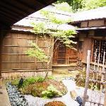 食事処の中庭