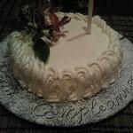 la splendida torta preparata da rosario per la mia fidanzata