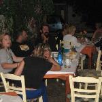 Hygge med græske venner