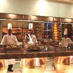 tandoor open kitchen
