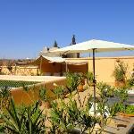 Terrasse du riad Limouna