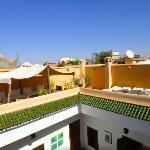 Les toits de Marrakech vu du Riad Limouna