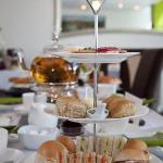 Our Homemade Cream Tea with Showstopper Jasmine Flowering Tea