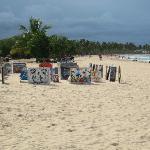 Macao Beach, Strandverkäufer sind allgegenwärtig