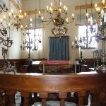 Interno Sinagoga Pitigliano