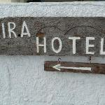 Another welcoming Ira sign