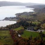 View of Inveraray and castle