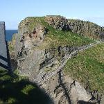 The Carrick rope bridge.