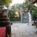 Entrance to Hostaria Antica