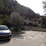 Hotel car park