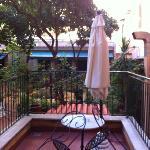 Terrasse zum Garten