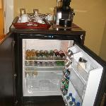 mini bar stocked to your liking