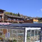 Exterior piscina y hotel