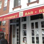 Outside of Bar
